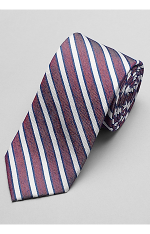 Men's Accessories, 1905 Collection Stripe Tie - Jos A Bank