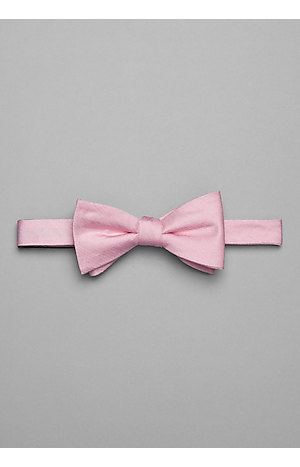 Men's Accessories, 1905 Collection Textured Pre-Tied Bow Tie - Jos A Bank