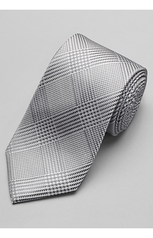 Men's Accessories, Reserve Collection Zigzag Check Tie - Jos A Bank