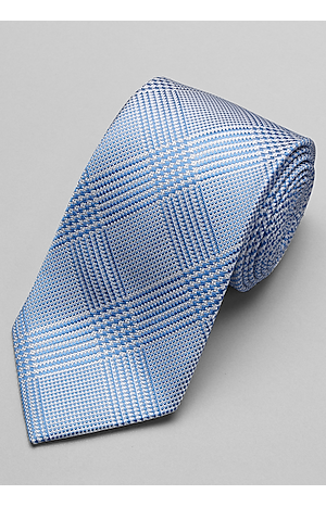 Reserve Collection Zigzag Check Tie