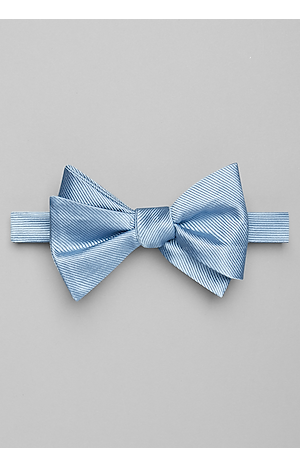 Men's Accessories, Jos. A. Bank Ribbed Pre-Tied Bow Tie - Jos A Bank